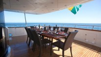 SUPER - Aft deck dining