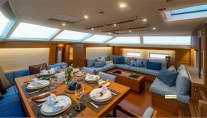 SW102RS Sailing Yacht Farfalla - Dining - Photo Alain Proust