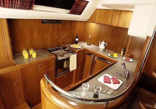 Vt halmatic image gallery luxury yacht browser by charterworld superyacht charter Ship galley kitchen design