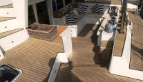 SY OMBRE BLU - Aft deck seating 2