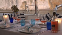 SY OMBRE BLU - Alfresco dining