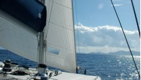 SY OMBRE BLU - Under sail