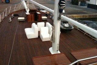 SY STELLA MARIS - Foredeck seating