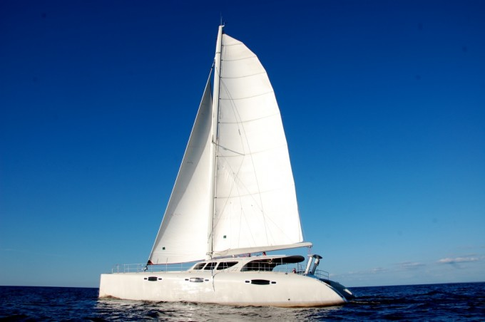 Sailing catamaran WILD CAT