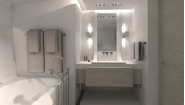 SYBARIS superyacht - Master Bathroom - Photo by PH Design-001