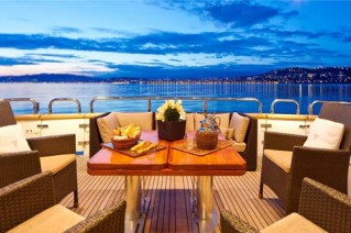 SYNERGY -  Aft Deck Dining