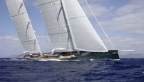 Saiing yacht HETAIROS crusing - photo Baltic Yachts