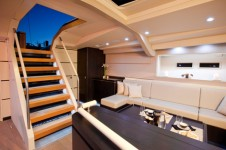 Sail Yacht AEGIR - Salon Seating