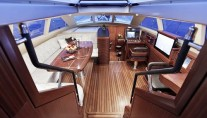Sail Yacht AIYANA -  Pilothouse