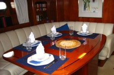 Sail Yacht ALINA -   Dining Table 2