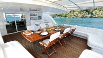 Sail Yacht ANGELO II -  Aft Deck Dining 2