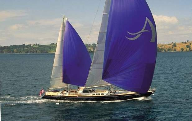 Sailing yacht AVALON