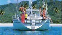 Sail Yacht COCONUT -  Aft View