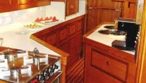 Sail Yacht COCONUT -  Galley