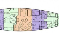 Sail Yacht COCONUT -  Layout