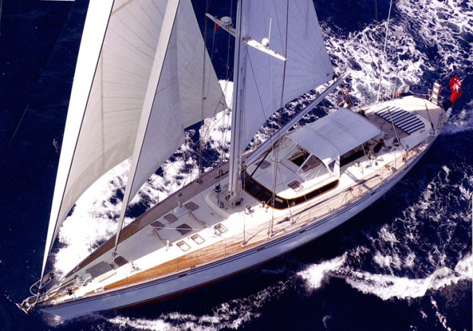 Sailing yacht COCONUT