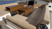 Sail Yacht DHARMA -  Cockpit Seating