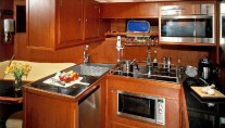 Sail Yacht DOLPHIN - Galley