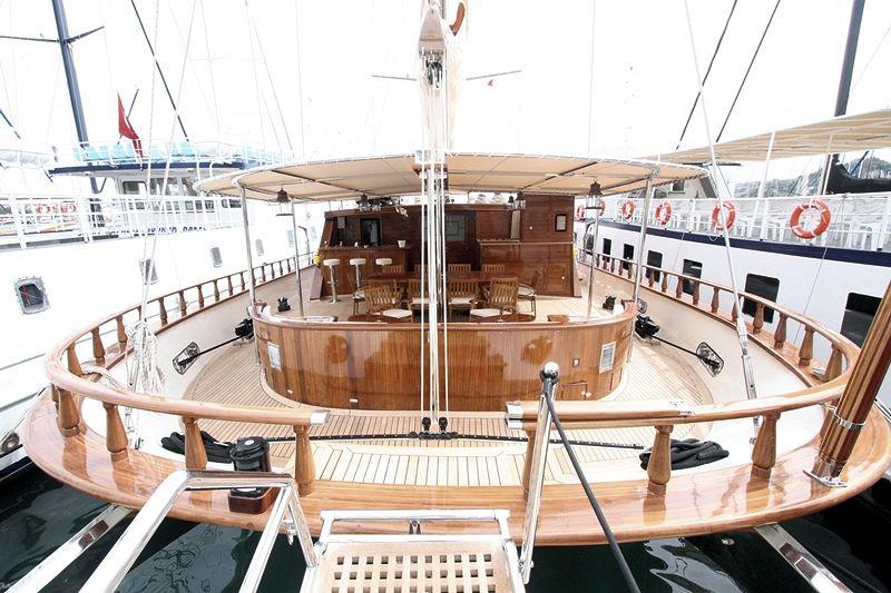 Sail Yacht DON CHRIS - Aft Deck
