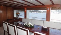 Sail Yacht DON CHRIS - Formal Dining