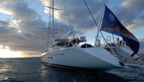 Sail Yacht HYPERION -  Aft View