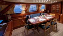 Sail Yacht HYPERION -  Formal Dining