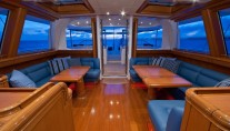 Sail Yacht HYPERION -  Pilothouse looking aft