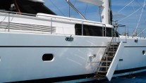 Sail Yacht HYPERION -  Side Boarding Ladder