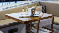 Sail Yacht INFINITY -  Cockpit Table