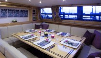Sail Yacht INFINITY -  Formal Dining