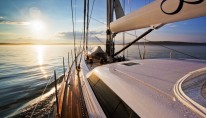 Sail Yacht INFINITY -  Looking forward