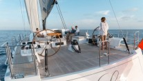 Sail Yacht LEO -  Aft View