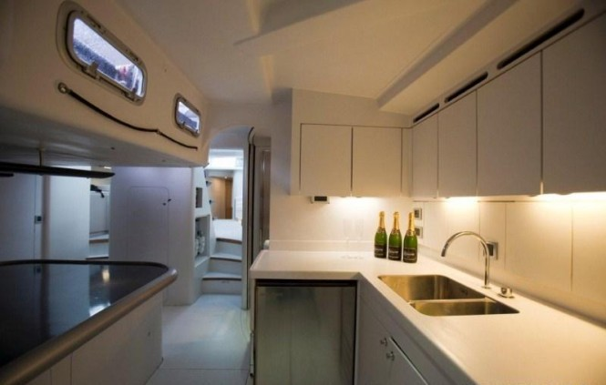Sail Yacht LEOPARD 3 -  Galley