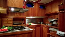 Sail Yacht MONTECRISTO -  Galley