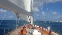 Sail Yacht NORTHERN STAR - Foredeck