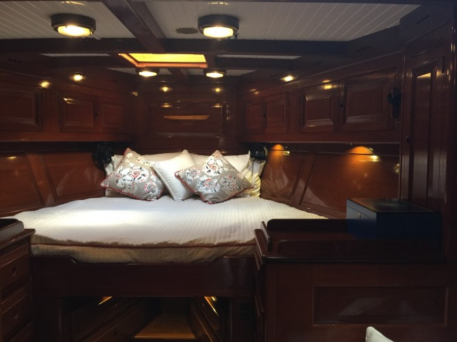 Sail Yacht NORTHERN STAR - Master Cabin