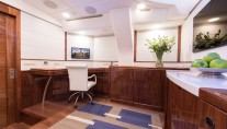 Sail Yacht PENELOPE -  Lower Salon Office