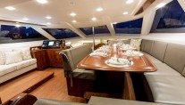 Sail Yacht PENELOPE -  Upper Salon Dining
