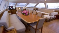Sail Yacht TWILIGHT -  Formal Dining