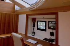Sail Yacht TWILIGHT -  Lower Salon Office