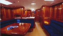 Sail Yacht WINDROSE -  Salon and Dining