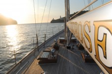 Sail Yacht WINDROSE -  View forward