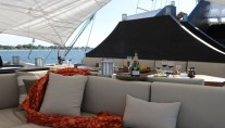 Sail Yacht ZEN -  Exterior Seating