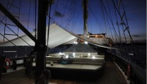 Sail Yacht ZEN -  Sundeck at Night