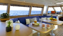 Sail yacht ALLURE -  Salon Dining