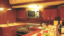 Sail yacht ATREVIDA - Galley