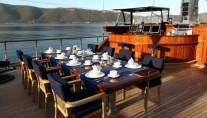 Sail yacht CLEAR EYES - Al Fresco Dining