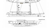 Sail yacht CLEAR EYES - Layout