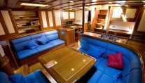 Sail yacht COPIHUE -  Salon