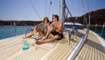 Sail yacht DELICIA -  Foredeck